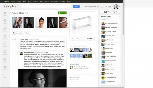 Google Plus for Team Collaboration